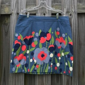 COPY - Boden Floral Skirt